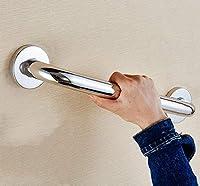 トイレの手すり シャワー手すり、48/58/68センチメートル長いハンドルステンレス鋼の鏡洗面バリアフリー滑り止め手すり高齢者障害のサポートアームレスト浴室バスルーム回廊 身障者手すり (Size : 68CM)