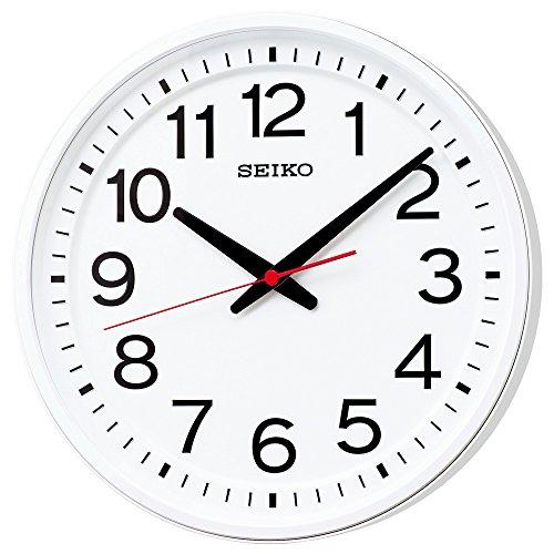 セイコー クロック 掛け時計 電波 アナログ 白 KX236W SEIKO