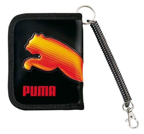 クツワ プーマ 3Dホロキャットウォレット 756PMRD 黒×赤