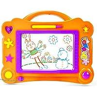 HuaQingPiJu-JP 消去可能なカラフルな落書き落書き板教育玩具魔法のスケッチボードに描画する