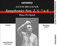 Anton Bruckner Symphonies n°2, n°5, n°7 et n°8