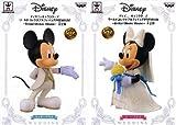 ディズニーキャラクターズ ワールドコレクタブルフィギュアPREMIUM Bridal ミッキーマウス&ミニーマウスWEEDING 2種セット