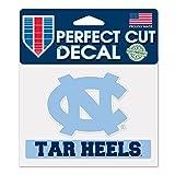 North Carolina Tar Heels公式NCAA 4インチx 5インチDie Cut車デカールby WinCraft 360304