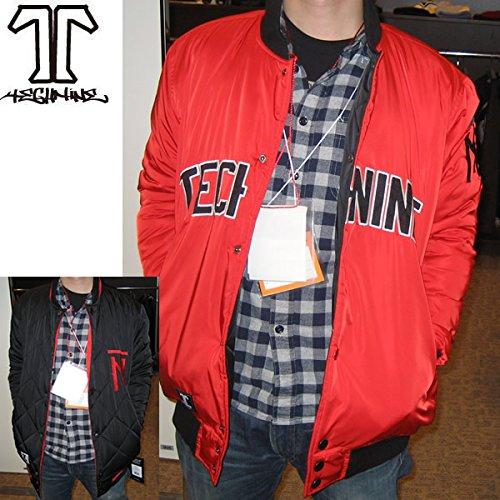 TECHNINE(テックナイン) テックナイン 15-16 スノーボードウェア  SWITCH HITTER DWR-jk /RED -BLACK リバーシブルTECHNINEウエア【スノーボードウェア・ウエア・スノボー用品】 XL