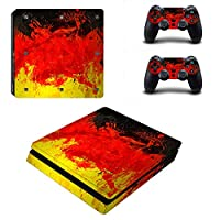 Linyuan 安定した品質 0064* Skin Sticker Vinyl Decal Cover for PlayStation PS4slim Console+Controllers