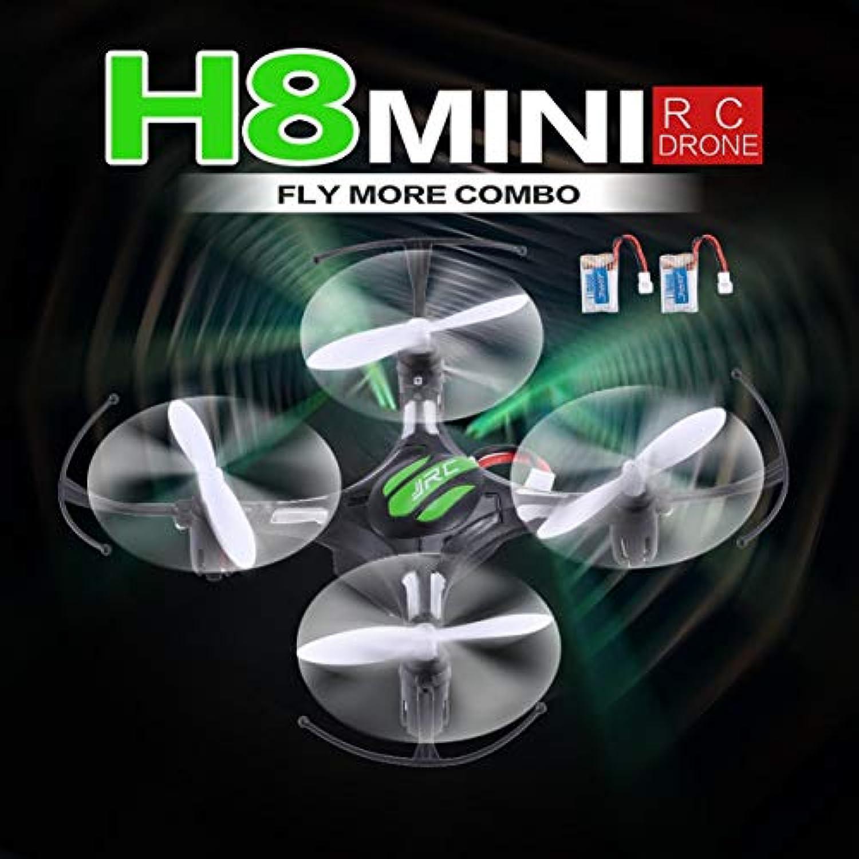 JJR/C H8ミニ2.4G RCドローンクアドコプター(2電池付き)ヘッドレスモード