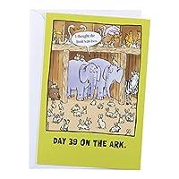 DaySpring BibleTailsユーモアグリーティングカード–誕生日、6カウント–Day 39