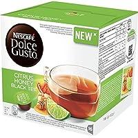 ネスカフェ ドルチェグスト(DOLCE GUSTO) CITRUS HONEY BLACK TEA (NEW!) - カプセル 16杯分×4箱 - 並行輸入品