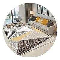 ZEMIN 廊下敷きカーペット ラグ じゅうた 寝室 マット 洗える カーペット、 マルチサイズカスタマイズ可能 (Color : A, Size : 1.2x5m)