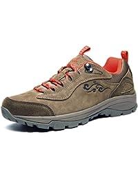 Xiang guan 登山靴 メンズ/レディース アンチ絨 トレッキングシューズ ハイキングシューズ アウトドア ウォーキングシューズ ハイカット