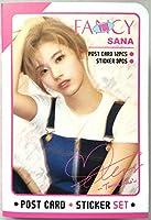 TWICE トゥワイス SANA サナ ポストカード(ステッカー3枚付き) 3001 グッズ