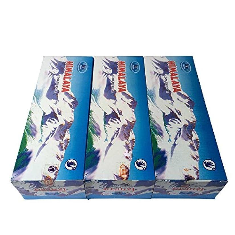 消化アンデス山脈リーズヒマラヤ香スティック 3BOX(18箱) /BIC HIMARAYA/インセンス/インド香 お香 [並行輸入品]