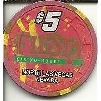 $ 5フィエスタObsoleteラスベガスカジノチップ
