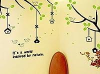 ウォールステッカー 田舎 貼り付け 暖かい 飾り物 きれい 防水 きれい 客間 リフォーム 洋風 部屋 子供部屋 ベイビー 背景壁 洋風(ヨシキ)YOSICIL