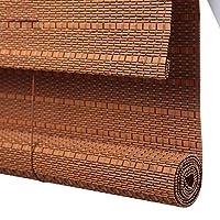 竹ローラーブラインド 窓およびドアのための竹ローラーのブラインド、停電のタケカーテン - 軽いろ過はバランスとのブラインドを転がします (サイズ さいず : 90x220cm)