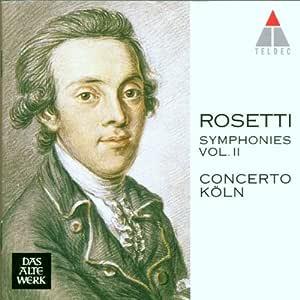 Rosetti;Symphonies Vol.2