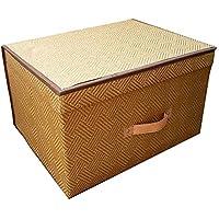 多機能厚い籐収納ボックス折り畳み式衣類おむつ収納ボックス50 * 40 * 30センチメートル