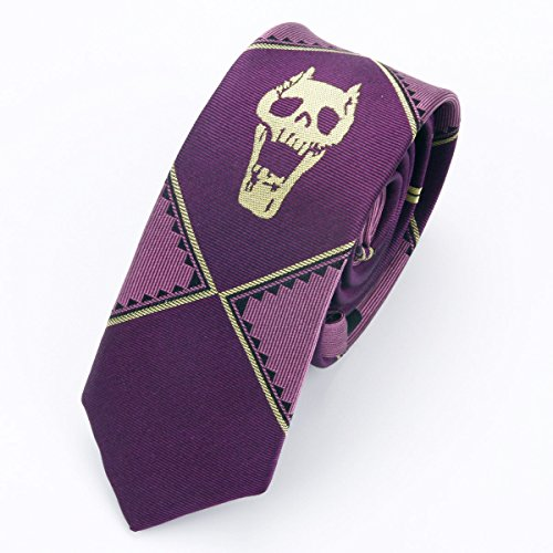 ジョジョの奇妙な冒険 吉良吉影 ネクタイ 4色 (紫)