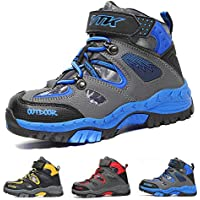 流行の子供靴 暖かく保つ ブーツ キッズ 快適で トレッキングシューズ 滑り止め ジュニアシューズ ASHION 耐久性のある 登山靴 ファッション キッズ 雪靴防水プラットフォーム
