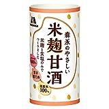 森永 森永のやさしい米麹甘酒 2ケース(125ml×60本)