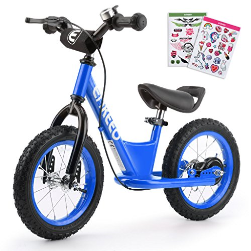 enkeeo ペダルなし自転車 幼児用ランニングバイク バラ...