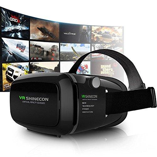 Corettle VR ゴーグル 3D 効果 映画 動画 ゲー...