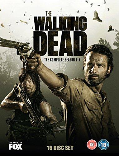 The Walking Dead Season 1 - 4 Complete Box / ウォーキング デッド シーズン 1 - 4 コンプリート ボックス [DVD] (inport) -