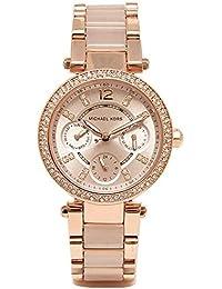 [マイケルコース] 時計 レディース MICHAEL KORS MK6110 MK6110622 PARKER 腕時計 ウォッチ ピンクゴールド [並行輸入品]