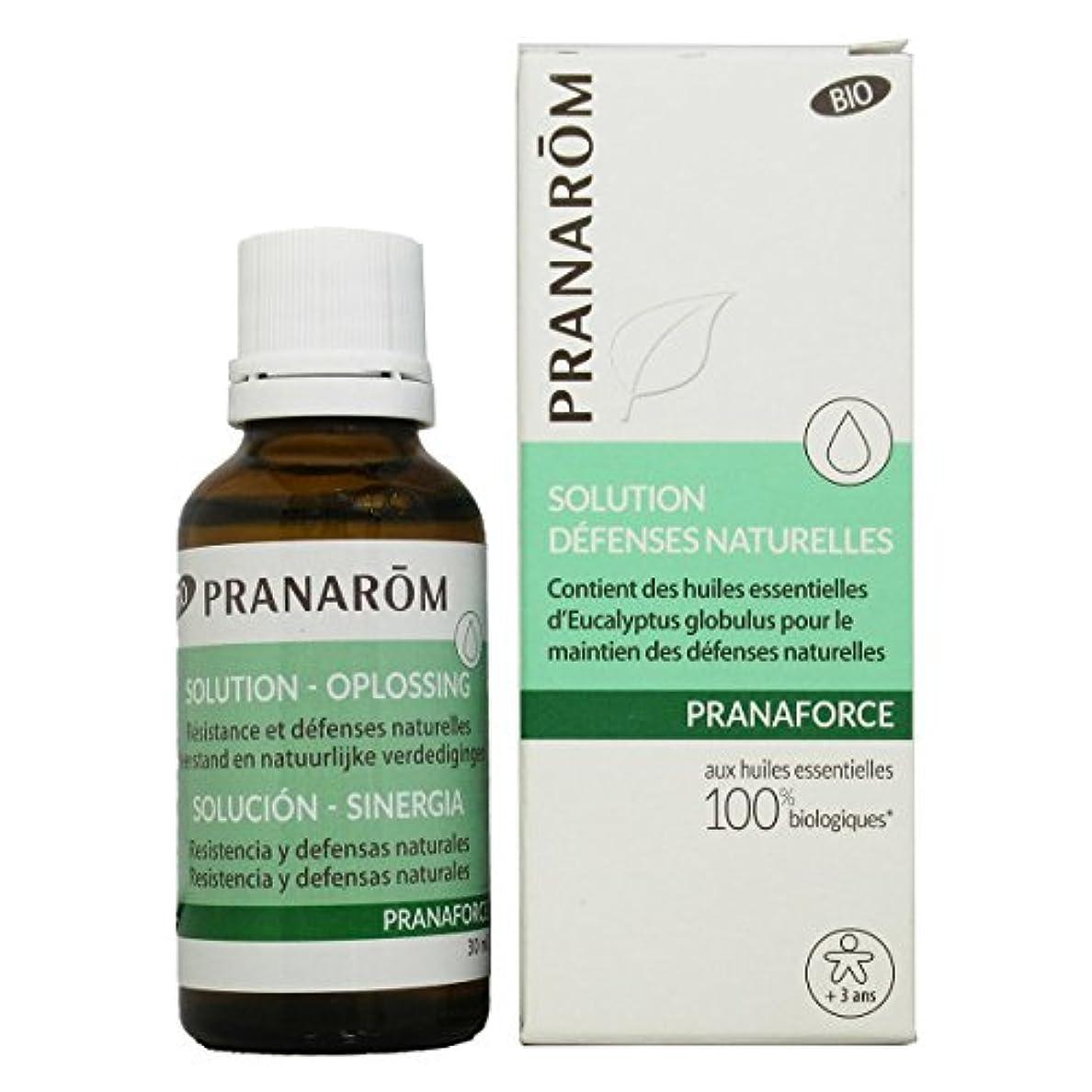 違法蒸留週末プラナロム プラナフォース ローション 30ml (PRANAROM マッサージオイル)