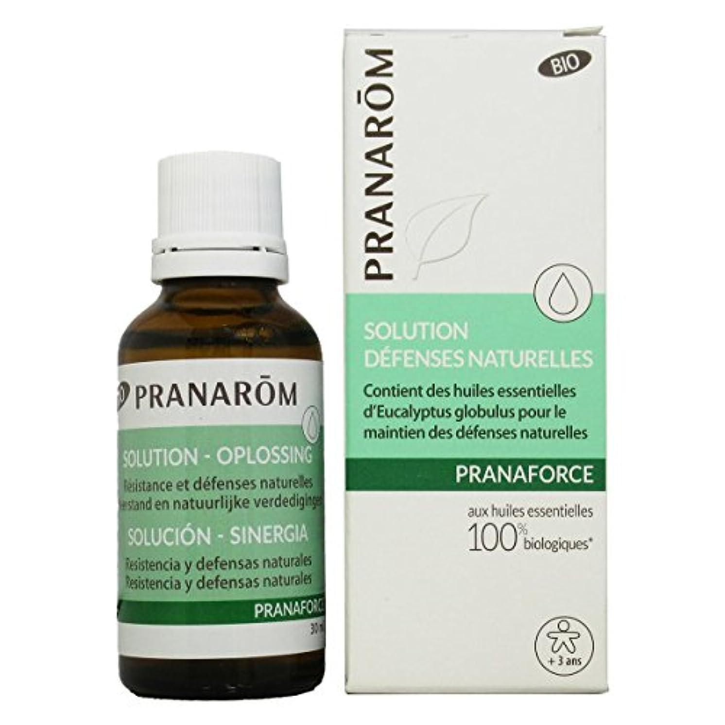 口頭卵損傷プラナロム プラナフォース ローション 30ml (PRANAROM マッサージオイル)