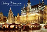 PT-038 グラン-プラスのクリスマスマーケット/ベルギー 「クリスマスカード」ポストカード