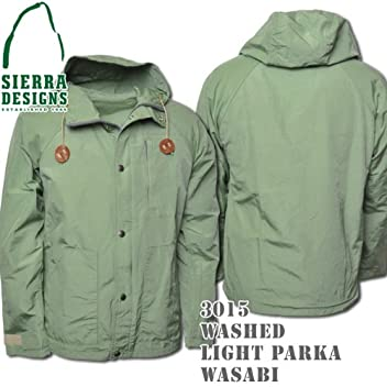 Washed Light Parka 3015: Wasabi