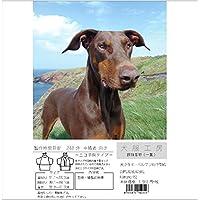 犬服工房 振袖着物(一重) ecoタイプ 大きなドーベルマン DBML&DBL&DBXL
