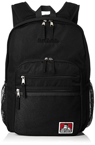 [ベンデイビス] リュック XLサイズ メッシュポケット リュックサック 通勤通学に最適です BDW-9200_BKBK ブラックブラック