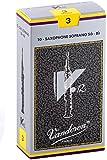 バンドーレン ソプラノサクソフォンリード V.12 硬さ:3 (10枚入り)