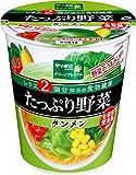 サッポロ一番 グリーンプレミアム たっぷり野菜 タンメン 78g ×12個