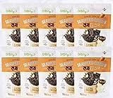 [ビビゴ/bibigo] 韓国海苔菓子 アーモンドバター焼き20g × 10袋/ 韓国海苔 Snack (海外直送)