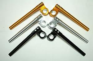 全5色 汎用 アルミ セパハン 26 mm 30 φ 【ADVANTAGE】 セパレート ハンドル バイク フロントフォーク に  (ゴールド)