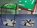 折りたたみ麻雀卓 T-R1(牌付き) デラックスタイプ