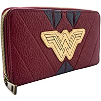 DC Wonder Woman Red Warrior Suit Coin & Card Clutch Purse