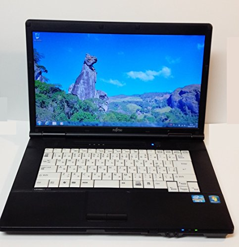 Fujitsu English OS Laptop computer 英語版OSノートPC Core i5 2.5Ghz, 4GB, 320GB, 15.6 TFT, DVD, USB Wlan & web camera Bundle, Windows 7 Pro English, Japanese keyboard, Used Computer, 中古ノート, Model: FMV-561/D