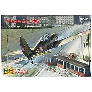 RSモデル 1/72 ドイツ空軍 アラド Ar396 高等練習機 プラモデル 92231