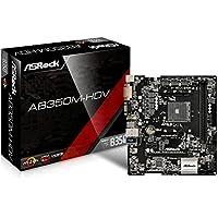 ASRock AMD B350チップセット搭載 Micro ATX マザーボード AB350M-HDV