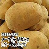 【北海道他西日本産】メークイン LM~2Lサイズ 1箱 約10kg