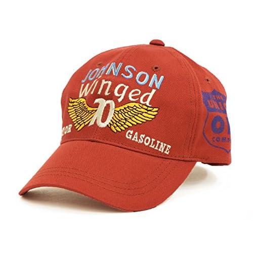 (トイズマッコイ) TOYS McCOY コットンキャップ TMA1503 ジョンソンガソリン メンズ 帽子 ブリック (メンズフリーサイズ)