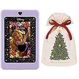 ディズニー&ディズニー/ピクサーキャラクター マジカルスマートノート + インディゴ クリスマス ラッピング袋 コットンバッグL クリスマスツリー グリーン XG609