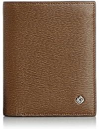 [サムソナイト] 財布 ブリット バーティカル ビルフォルダー 牛革 (旧モデル)