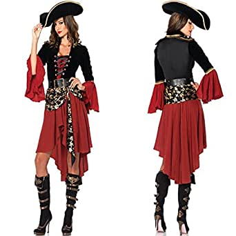パイレーツ オブカリビアン 風 衣装 コスチューム レディース フリーサイズ