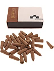 SunniMix お香 逆流香 コーン 20分間 36個セット 4種選択  仏壇 香炉  - アガーウッド