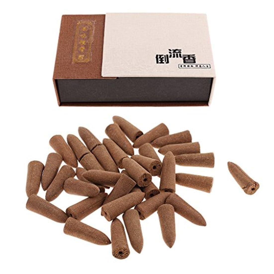 水差しちょうつがいエスニックSunniMix お香 逆流香 コーン 20分間 36個セット 4種選択  仏壇 香炉  - アガーウッド